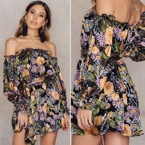 For Love And Lemons Luciana Mini Dress